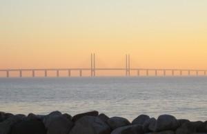 vy över Öresundsbron